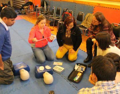 Jornada de formación para el voluntario (Santiago, Chile)